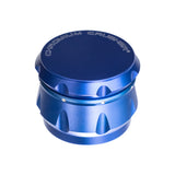 "Grinder, Dimpled Aluminum 4-Piece 3-Level 2.5"", by Chromium Crusher - Bat Kountry- shipping in stock items during COVID-19"