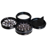 "Grinder, 4-Piece 3-Level 2.5"" w/ Olympus Window, by Chromium Crusher - Bat Kountry- shipping in stock items during COVID-19"