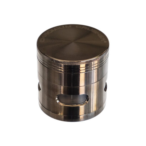 Grinder 4-Piece 3-Level, by Chromium Crusher - Bat Kountry- shipping in stock items during COVID-19