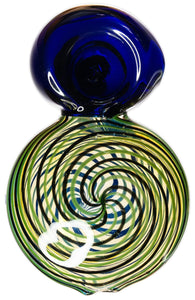 Hypnotic Eight Spoon Hand Pipe - Bat Kountry