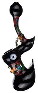 Hot Rod Bubbler Hand Pipe - Bat Kountry- shipping in stock items during COVID-19