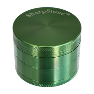 "Grinder, Large 4-Piece 3-Level 3"", by Sharpstone - Bat Kountry- shipping in stock items during COVID-19"
