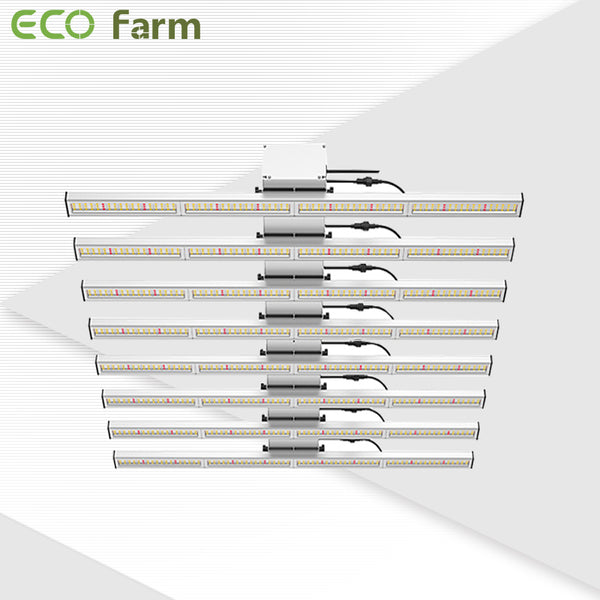 ECO Farm STG 600W/800W/1000W Full Spectrum Spider LED Grow Light Bar
