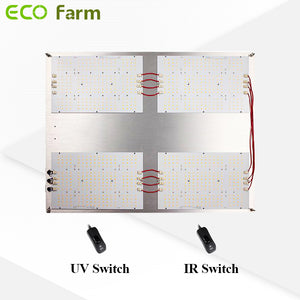 ECO Farm SAMSUNG LM301H+CREE 660nm+LG395 UV+CREE 730nm IR Dimmable Quantum Board-growpackage.com