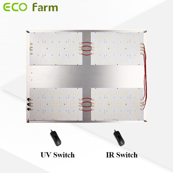 ECO Farm SAMSUNG LM301H+CREE 660nm+LG395 UV+CREE 730nm IR Dimmable Quantum Board