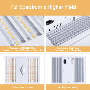 100 Watt Panels - Viparspectra VP Series VP1000