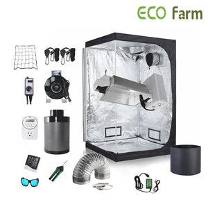ECO Farm 5*5FT(60*60*80inch)DIY Grow Package