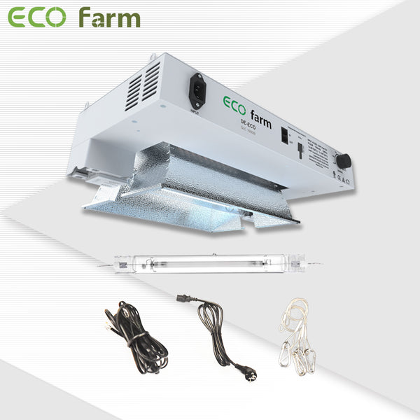 ECO Farm 1000W DE HPS/MH Controller Compatible Grow Light Kit-growpackage.com