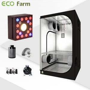Eco Farm 4'*4' Essential DIY LED Grow Package for 4 Plants