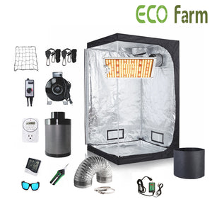 ECO Farm 1.3*1.3FT(16*16*48inch)DIY Grow Package