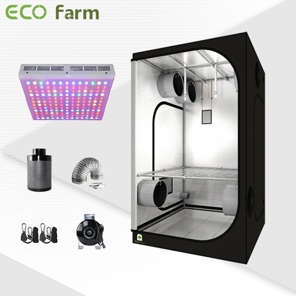 Eco Farm 4'*4' Essential 300W LED Grow Package for 4 Plants