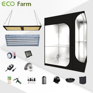 Eco Farm 4*3FT(48*36*72inch)DIY Grow Package