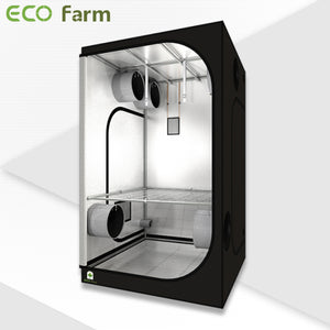 ECO Farm 3.3'x3.3' Essential Grow Tent Kit - 200W UFO Grow Light-growpackage.com