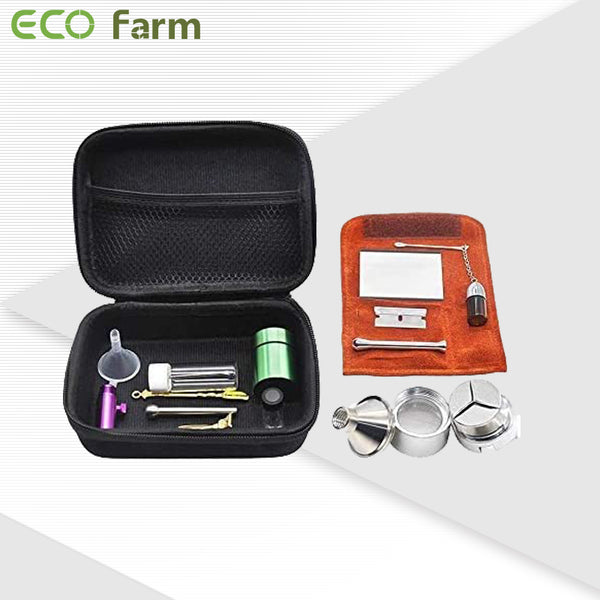 ECO Farm 12 PCS Snuff Kits with Case Tobacco Bag Sets-growpackage.com