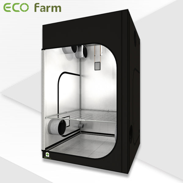 ECO Farm 4.7x4.7FT(56*56*80inch) Hydroponic Indoor Grow Tent-growpackage.com