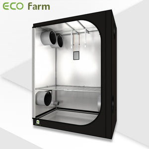 ECO Farm 5'x5' Essential Grow Tent Kit - 480W LM301B Quantum Board