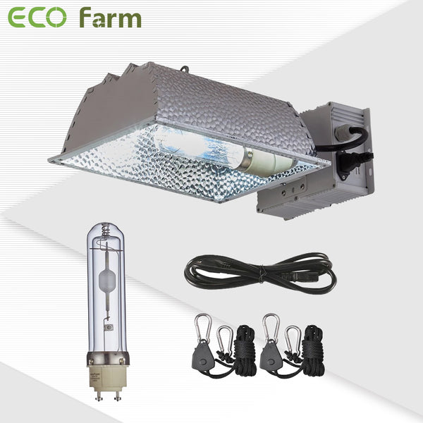 ECO Farm CMH 315W Grow Light Fixture Reflector Enclosed Kit-growpackage.com