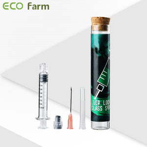 ECO Farm Luer lock Glass Syrince-growpackage.com