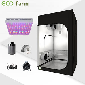 Eco Farm 5'*5' Essential 300W LED Grow Package for 6 Plants