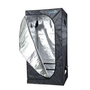 Quictent 2ft8inch x 2ft8inch x 5ft3inch Mylar Hydroponic Grow Tent For Plants Indoors