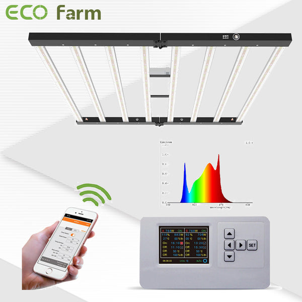 ECO Farm ECOF LM301B 600W 8 Bars LED Grow Light