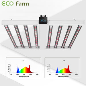 ECO Farm MB3 Pro 760W LM301B LED Grow Light With 2 Spectrum and Screen Timer Function
