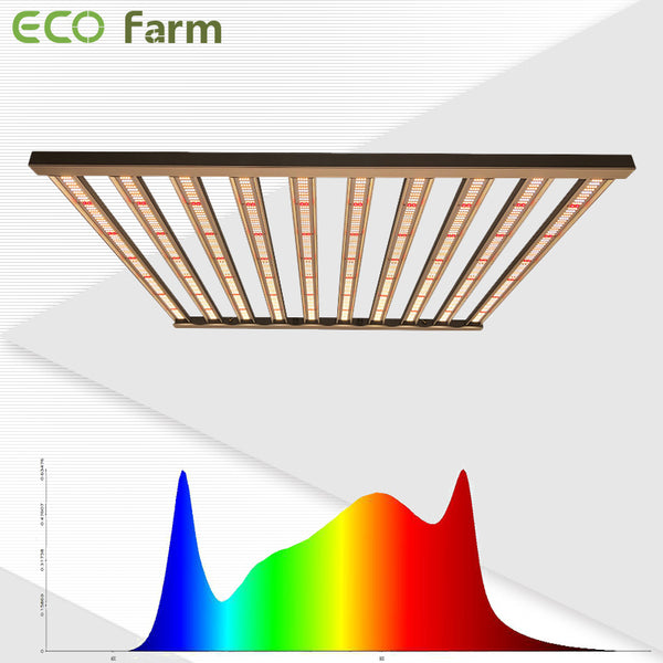 ECO Farm ECOM 480/650/1000/1200W LM301H Full spectrum LED Grow Light Bars