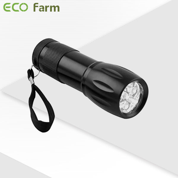 ECO Farm 9W Green Light Flashlight-growpackage.com
