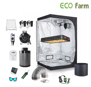 ECO Farm 3*3FT(36*36*80inch)DIY Grow Package