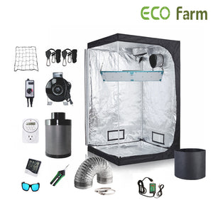 ECO Farm 2.7*2.7FT(32*32*64inch)DIY Grow Package