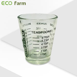 ECO Farm Measuring Shot Glass-growpackage.com