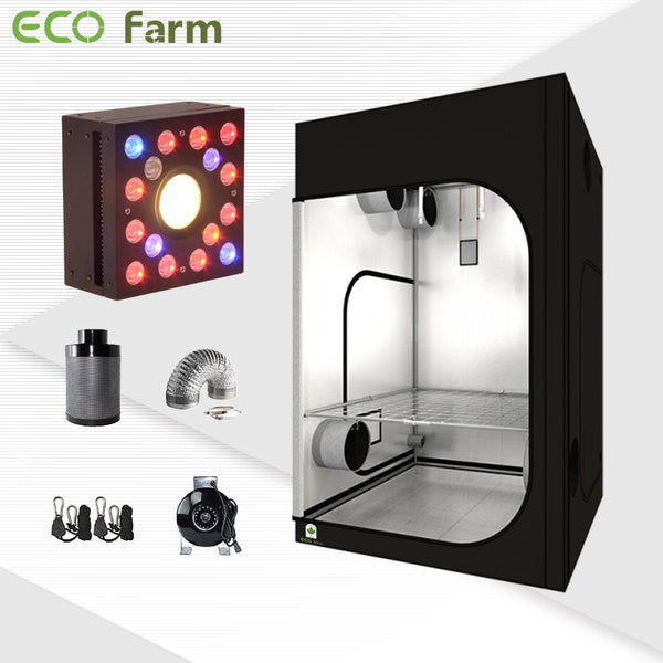 Eco Farm 5'*5' Essential DIY LED Grow Package for 6 Plants