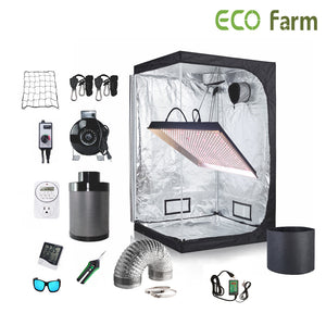 ECO Farm 4*4FT(48*48*80inch)DIY Grow Package