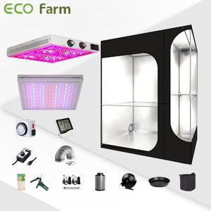 Eco Farm 3*2FT(36*24*53inch)DIY Grow Package