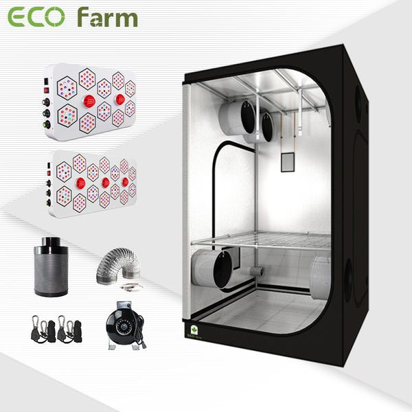 Eco Farm 4'*4' Essential LED Grow Package for 4 Plants-A Series