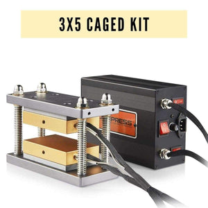 3x5 DIY Caged Rosin Press Kit -  Build A 10-12 Ton Rosin Heat Press Machine for Personal Use -  Build A 10-12 Ton Rosin Heat Press Machine for Personal Use | Dabpress