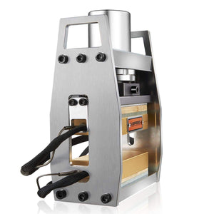 10 Ton Mini Rosin Press  4-small-rosin-press-anodized-heated-press-3x5_4x7