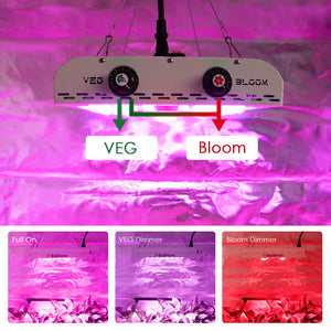 ECO FARM 440W/680W/880W LED Grow Light - CREE