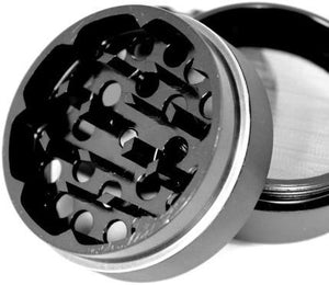 Cali Crusher Herb Grinder 4 Piece Black