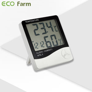 ECO Farm Thermo-Hygrometer 2-in-1-growpackage.com