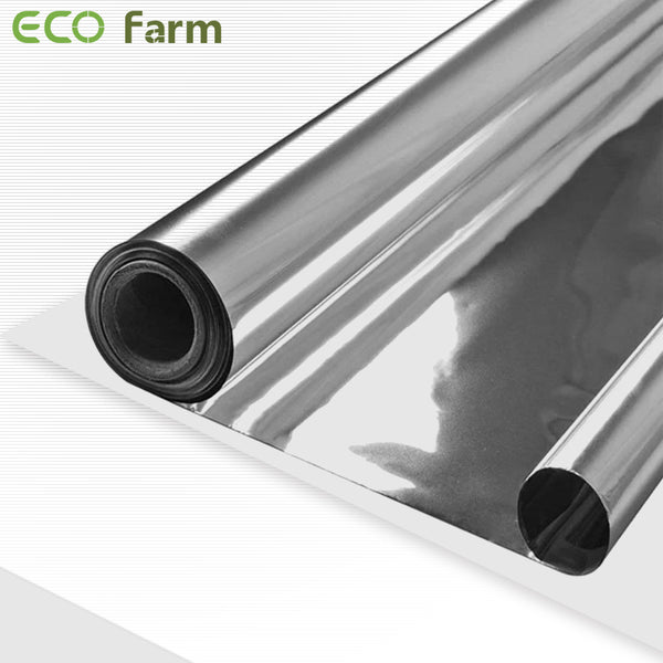 ECO Farm Silver Mylar--Imported 97% Reflective Metallized Film-growpackage.com