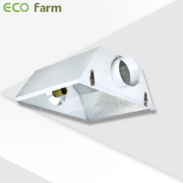 "ECO Farm MODERATE 6"" Hood Grow Light Reflector R1012 SE-growpackage.com"