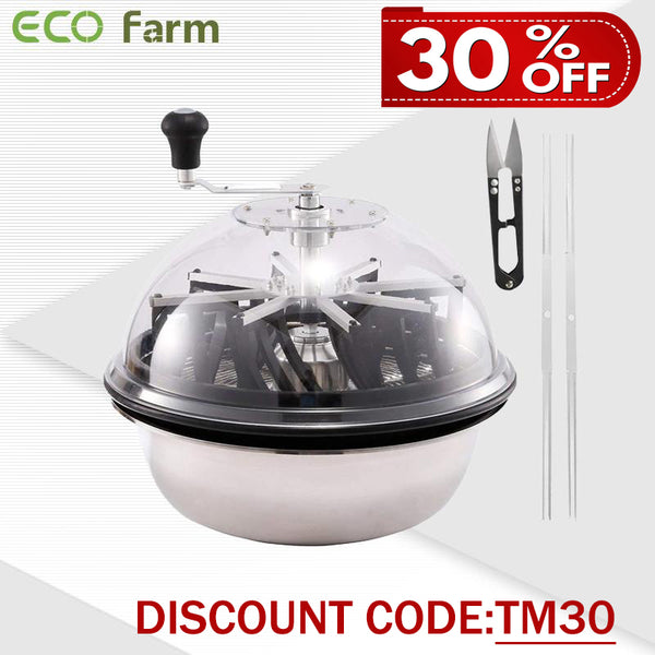 ECO Farm 16/19 Inch Manual Leaf Bowl Trimmer Machine