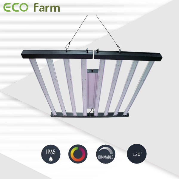 ECO Farm 640W/720W/960W Samsung LM301B Foldable Grow Light Bar