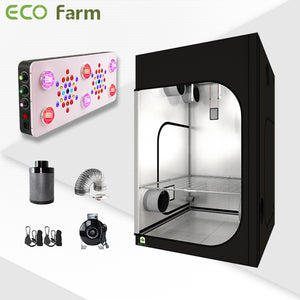 Eco Farm 5'*5' Essential 850W LED Grow Package for 6 Plants