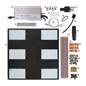 ECO Farm LED Quantum Board - RX-LM301-312 Series-growpackage.com