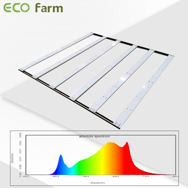 ECO Farm ECOY 600W Movable LED Grow Light Bar with Samsung LM301H Chip