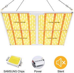 King Plus UL Series 4000W LED Grow Light Full Spectrum Plants Lights for Indoor Veg and Flower Growing Lamp(1240 Samsung LED Chips)