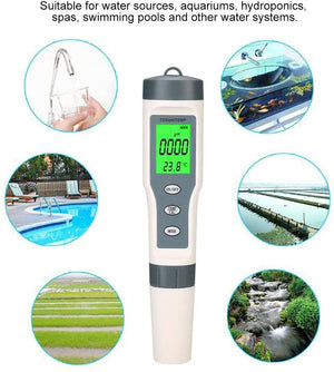 ECO Farm PH/TDS/Temp 3 in 1 Test Meter-growpackage.com