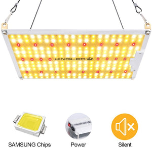 King Plus UL Series 1000W LED Grow Light Full Spectrum Plants Lights for Indoor Veg and Flower Growing Lamp(224 Samsung LED Chips)